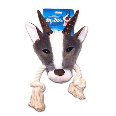 My M8s Plush Gazelle Head Interactive Dog Chew Toy