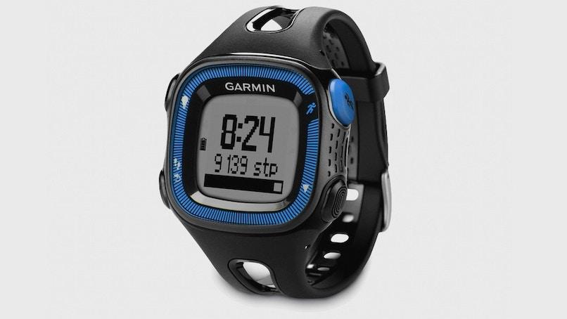Garmin Forerunner 15 (Black & Blue,, Watches