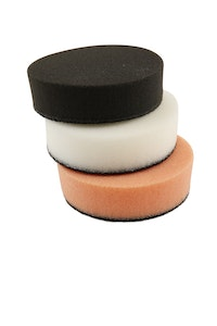 """3"""" Velcro Buff Pads - 3 Colours Available"""